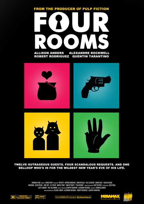 Cztery pokoje plakat